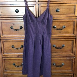 T-shirt fabric cami dress with sparkles